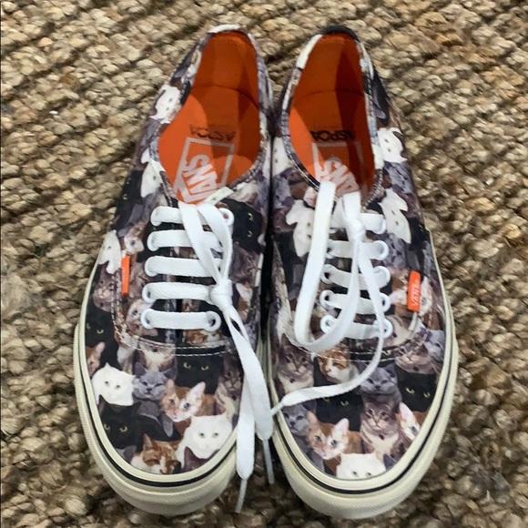 Vans Shoes   Cat Aspca Van Shoes Mens